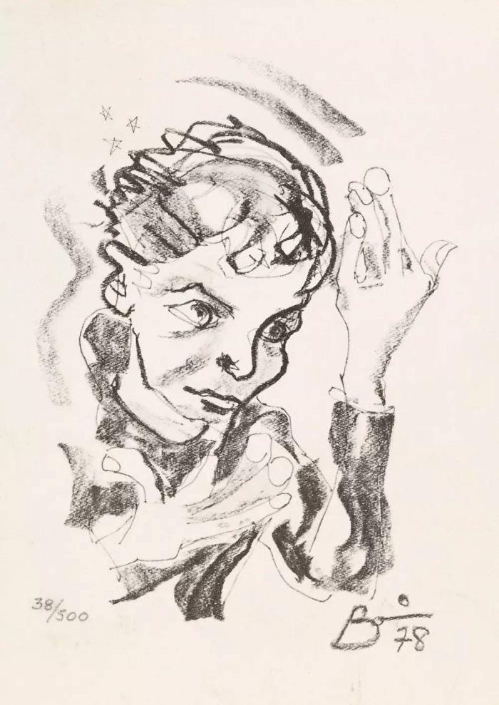 Les Peintures de David Bowie (7)