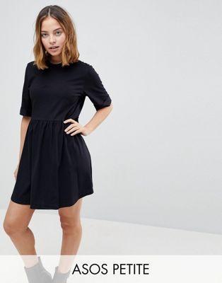 b196593a87f DESIGN Petite mini ultimate cotton smock dress   wish list   ASOS ...