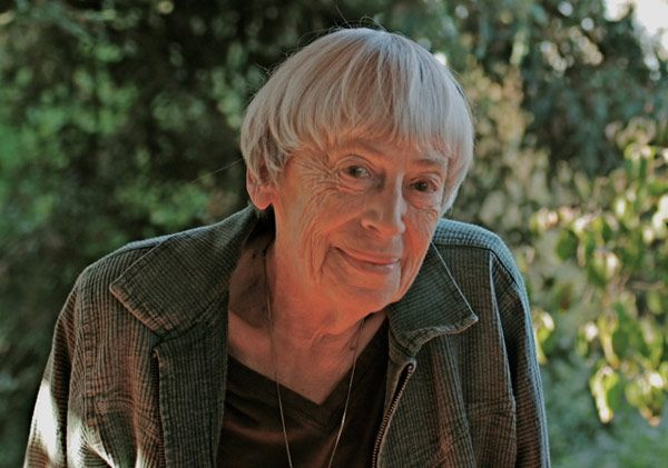 The Greatest Female Sci-Fi/Fantasy Authors of All Time --The greatest thing of all is that I have MET AT LEAST THREE OF THESE WOMEN, one of them being Ursula le Guin (above). Life is good.