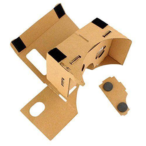 DIY carton aimant Réalité Virtuelle Affichage pour portable lunettes 3D: Cet article DIY carton aimant Réalité Virtuelle Affichage pour…