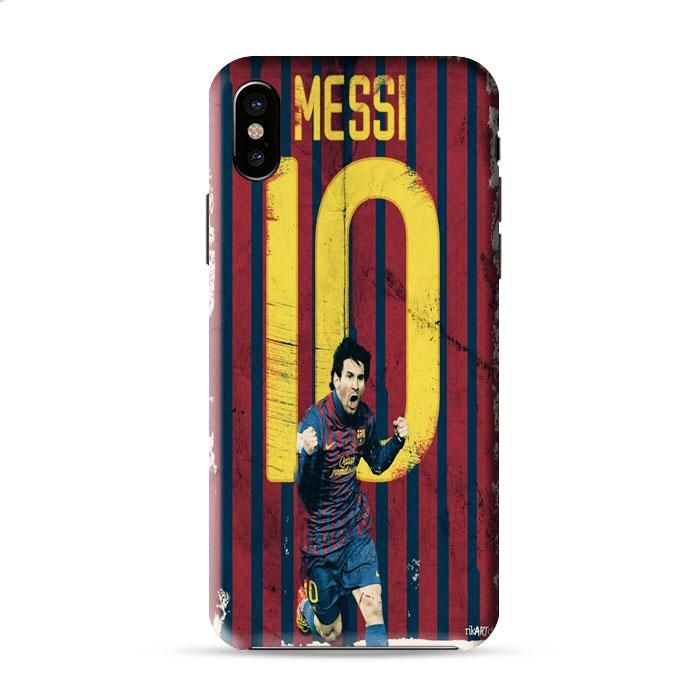 Messi Art Booming Iphone X 3D Case Caseperson