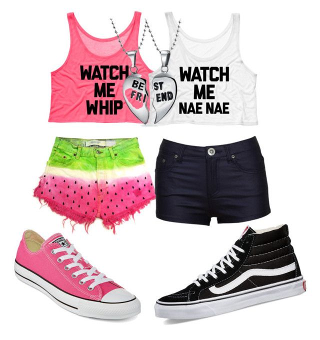 """""""Untitled #51"""" by tiyetta1221 ❤ liked on Polyvore featuring Bling Jewelry, Converse and Vans"""