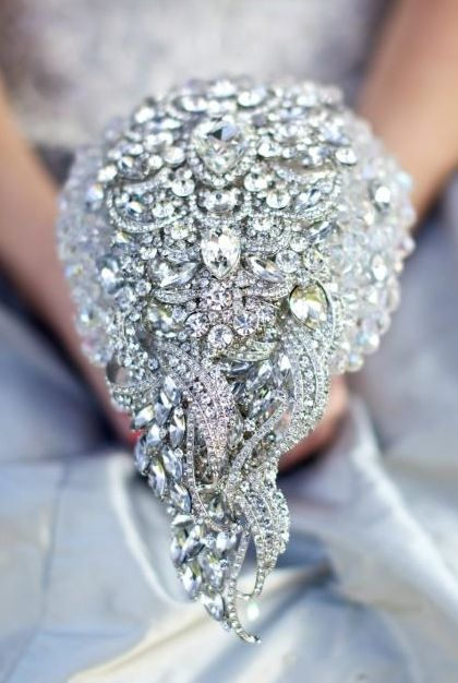 The Crystal waterfall bouquet