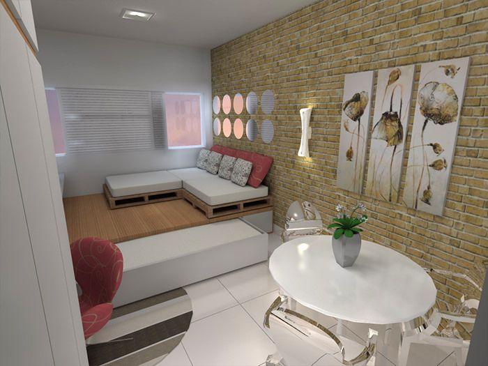 562 best images about apartamentos decorados pequenos on for Apartamentos decorados pequenos
