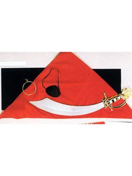 https://11ter11ter.de/19588347.html Piraten Säbel mit Tuch, Augenklappe & Ohrring #Karneval #Fasching #Mottoparty #Pirat #11ter11ter #Outfit #Kostüm