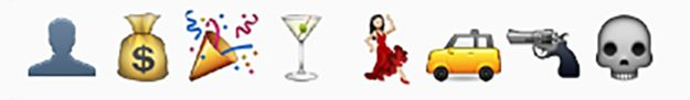 Great Gatsby Emoji