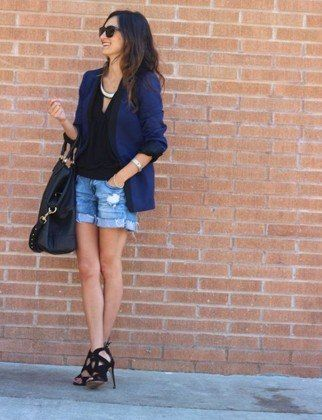 What a cool French fashion editor would wear on hot Parisian days.