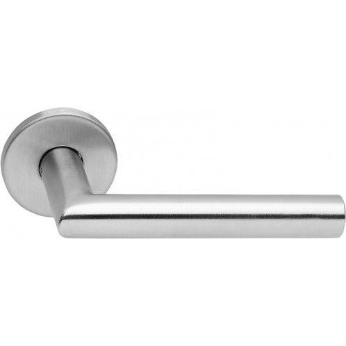Futura 04 Trycke / Dörrhandtag - Rostfritt Stål - Beslag Design #allabeslag #dörrtrycke #dörrhandtag #rostfritt #inredning #beslagdesign