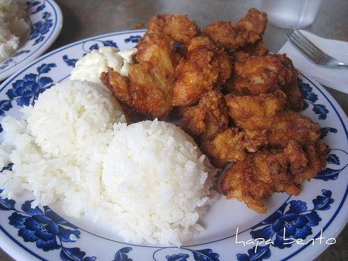 Mochiko Chicken and Rice...yum yum