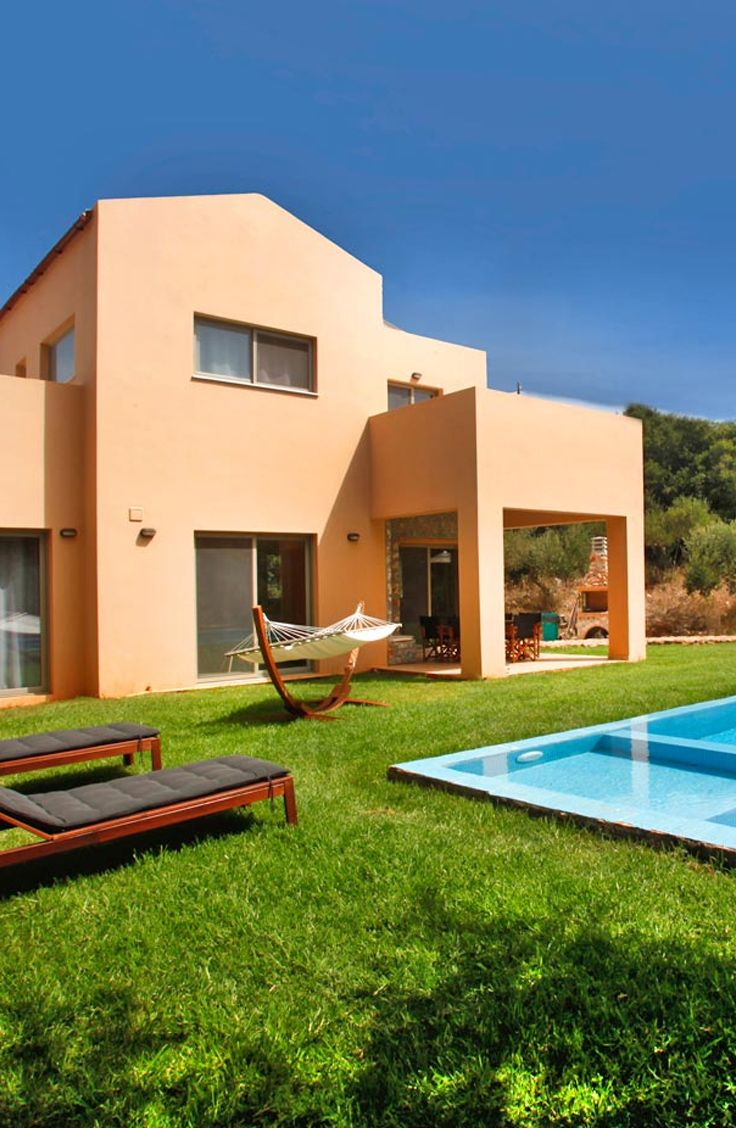 Villa Nature Gifted in Litsarda Chania. Book a beautiful villa in Crete, visit our site: TheHotel.gr