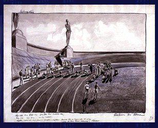 Metropolis 1927 - Film Archive - Erich Kettelhut Drawings 1925-6