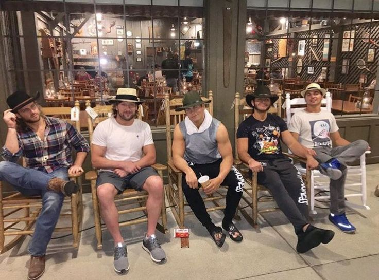 The Bullet Club is ready for Christmas with this amazing photo