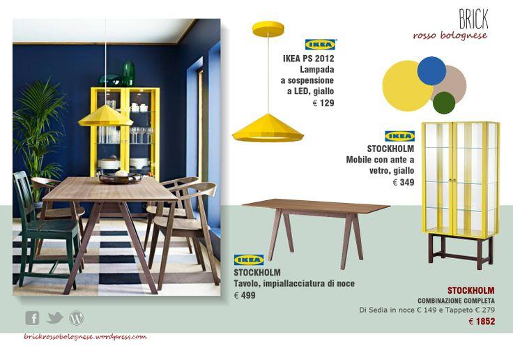 Combinazione zona pranzo ikea Stockholm