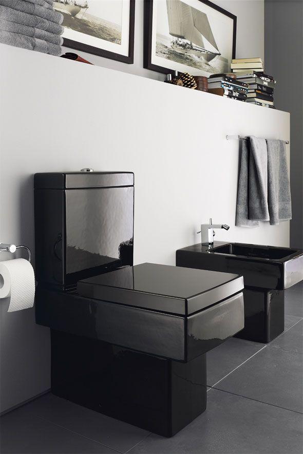 196 best the toilet images on pinterest bathroom half bathrooms rh pinterest com black bathroom toilet paper holder black bathroom toilet roll holder