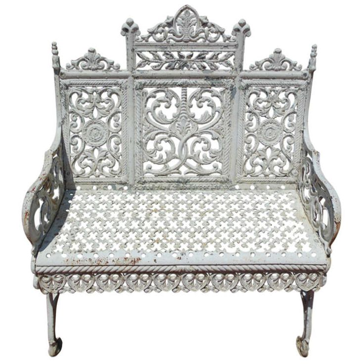 1000 images about cast iron outdoor furniture on Cast iron garden furniture