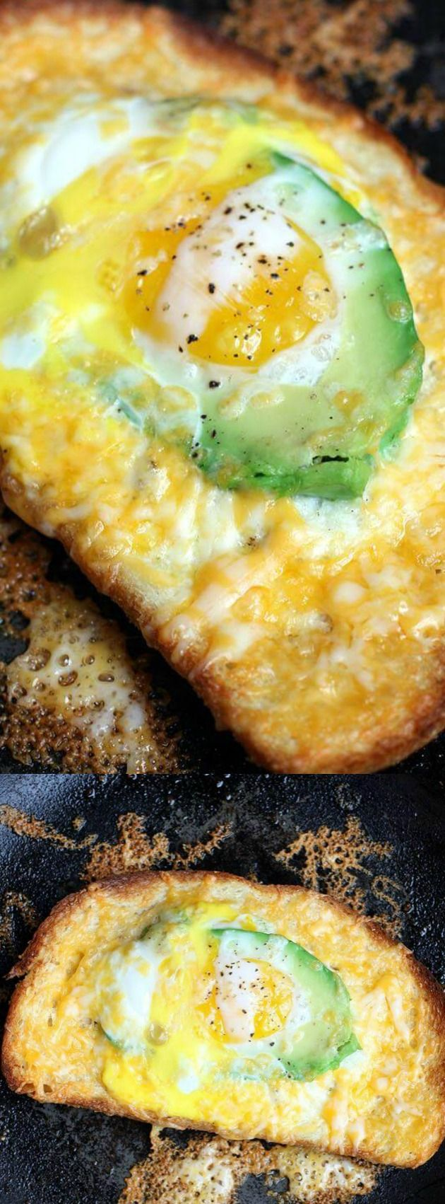 This Avocado and Egg in a Hole Toast from Tastes Better from Scratch makes the perfect Saturday morning breakfast for your family! It's perfect when you want something hot, cheesy, and totally delicious to eat.