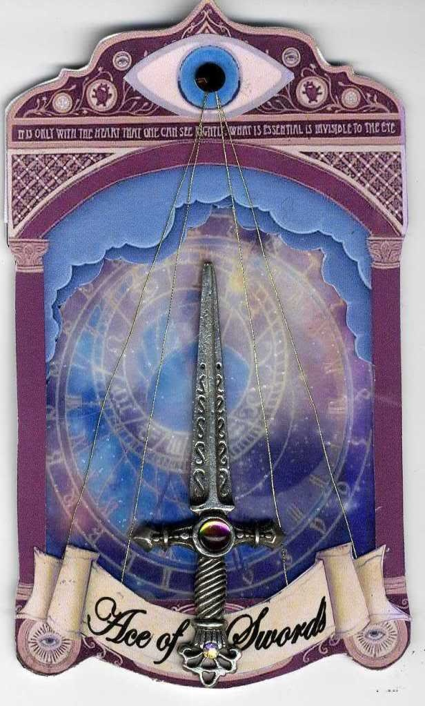 """More Tarot Tuesday The Occult Detective The High: Tarot Card """"Ace Of Swords"""" To See More Of My Art, Signup"""