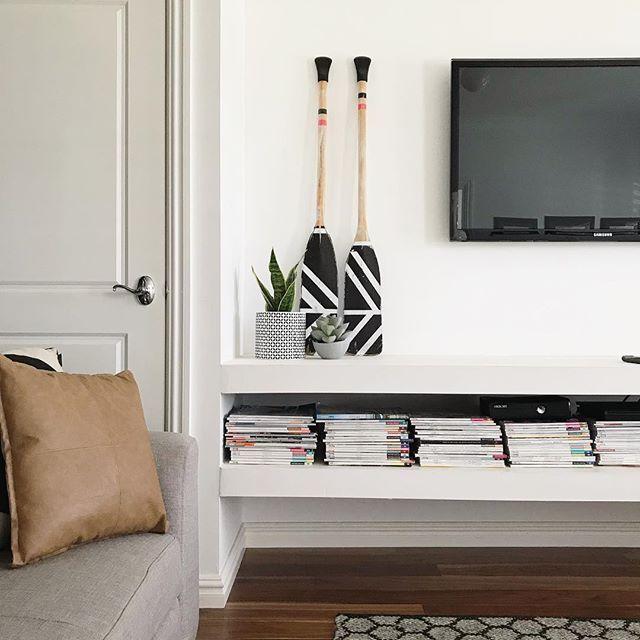 tv floating shelves