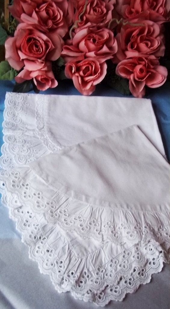 French Vintage/Antique Baby Nursery Linen  Cradle Quilt and Pillowsham...I am SO in love with this!!!
