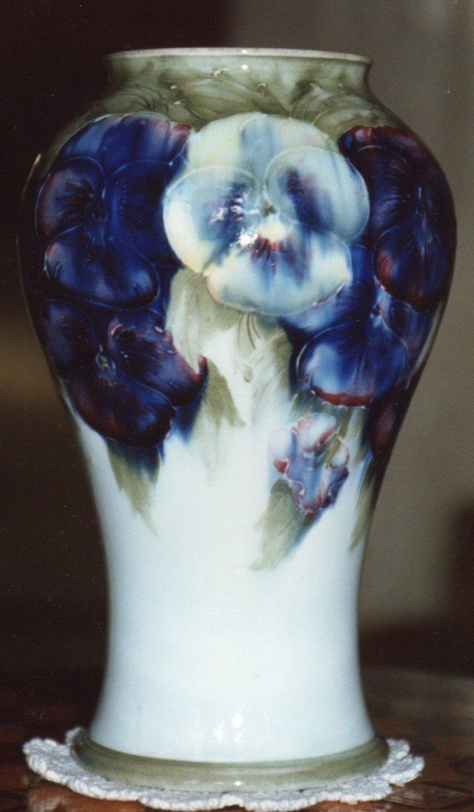 407 best Moorcroft Pottery images on Pinterest   Flower vases, Jars ...