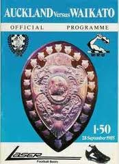 A token programme from the 80's, momento to the great rivalry between Auckland and Waikato.
