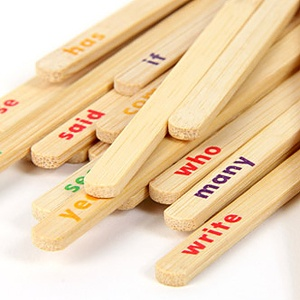 memorize sight words while improving fine motor skills and hand-eye coordination