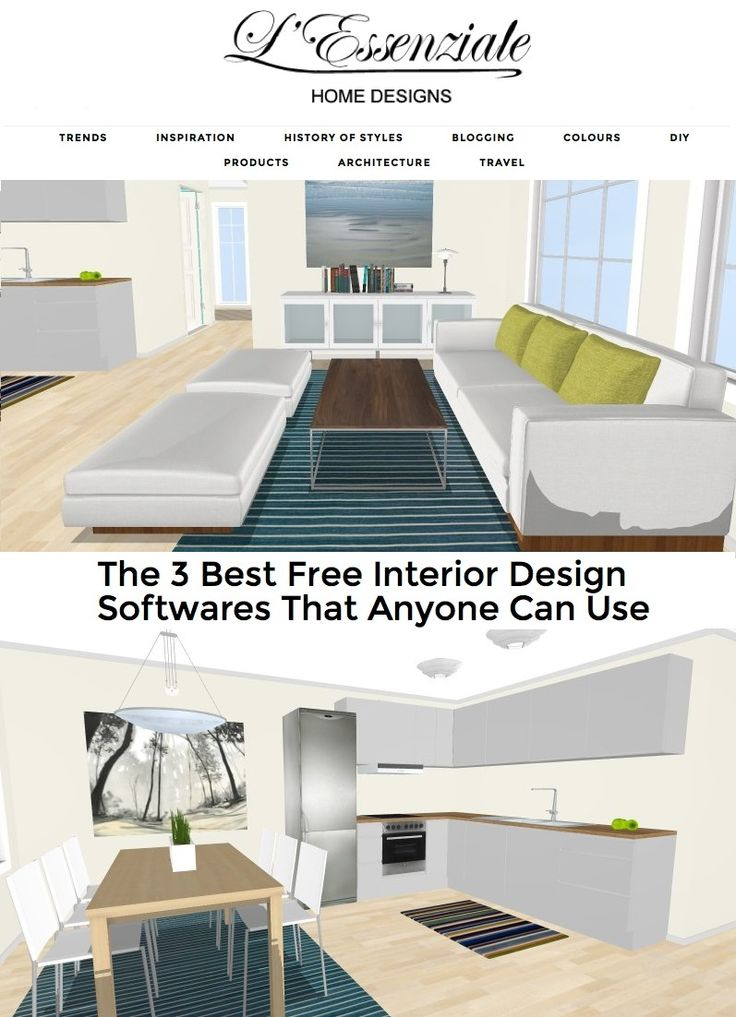 The 3 Best Free Interior Design Softwares Anyone Can Use On LEssenziale