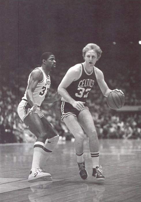 Magic Johnson & Larry Bird