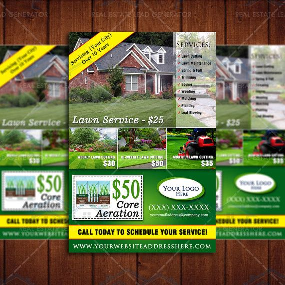 Lawn Service And Landscape: Lawn Care Business, Lawn Care