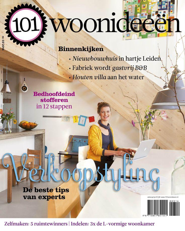 Cover Dutch creative interior magazine 101Woonideeen 03-2014