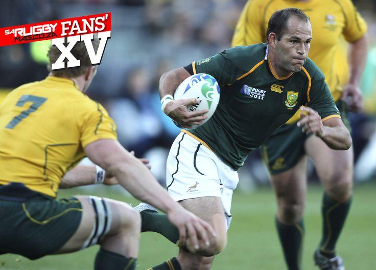 Fourie du Preez for Springbok Fans' XV rugby team? | #SARugby magazine