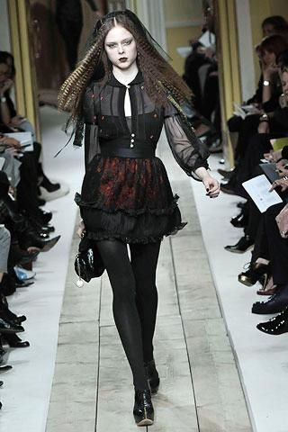 Chapter 19: Luella Fall 2008 - Inspired by 90s goth style tribe