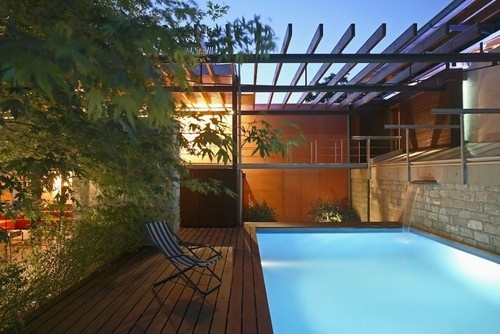 swim? Wish the pool area looked like this!!: Rustic House, House Design, Living Rooms Design, Pools Decks, Swim Pools, Contemporary House, Small Spaces, Traditional House, Outdoor Pools Area