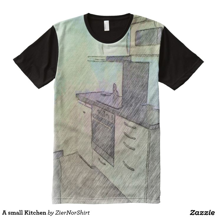 A small Kitchen All-Over Print T-shirt
