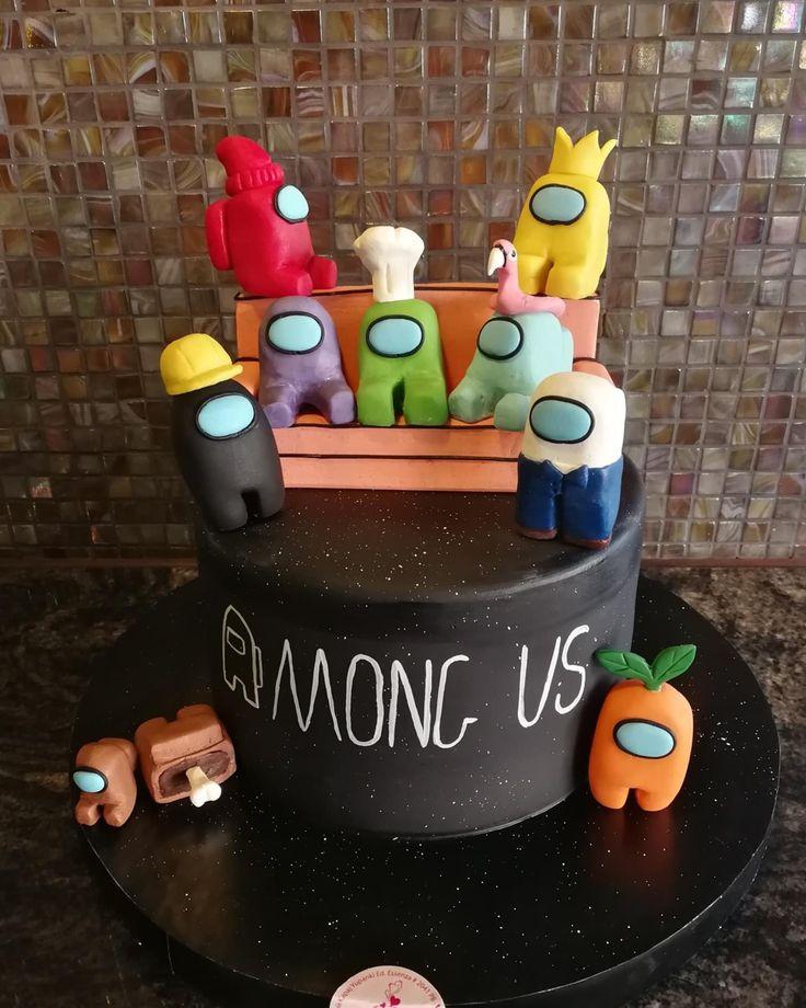 13+ Among us birthday cake images inspirations