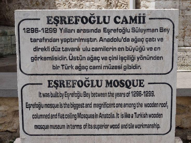 Beyşehir Eşrefoğlu Câmii ve Külliyesi - Konya - Selçuklu Eseri