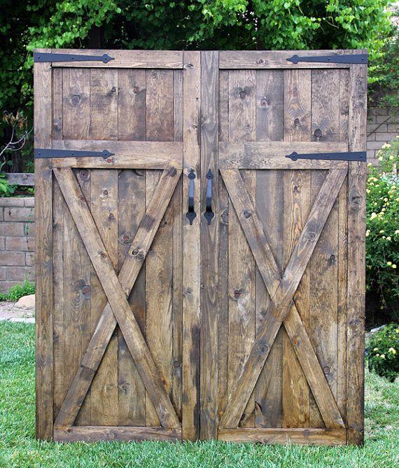 Headboard Vintage Barn Door Replica By Foo Foo by FooFooLaLaChild