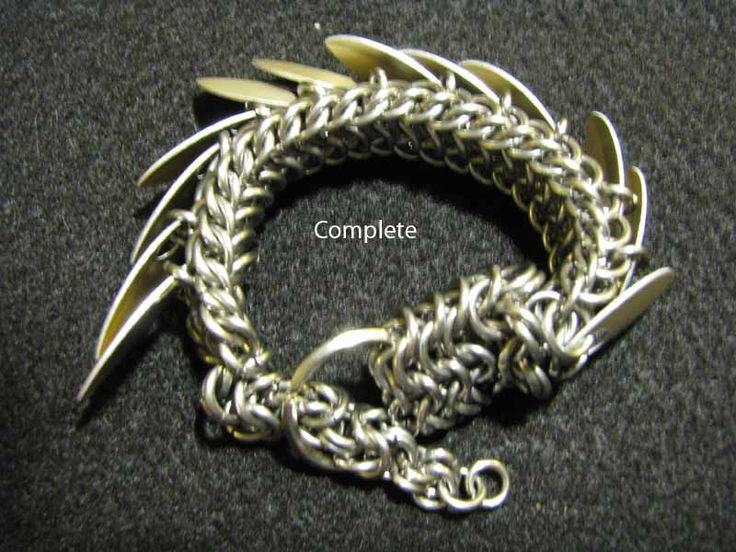 tutorial for a chainmail pet dragon