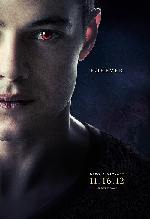 Rami Malek as Benjamin (Breaking Dawn Part 2)