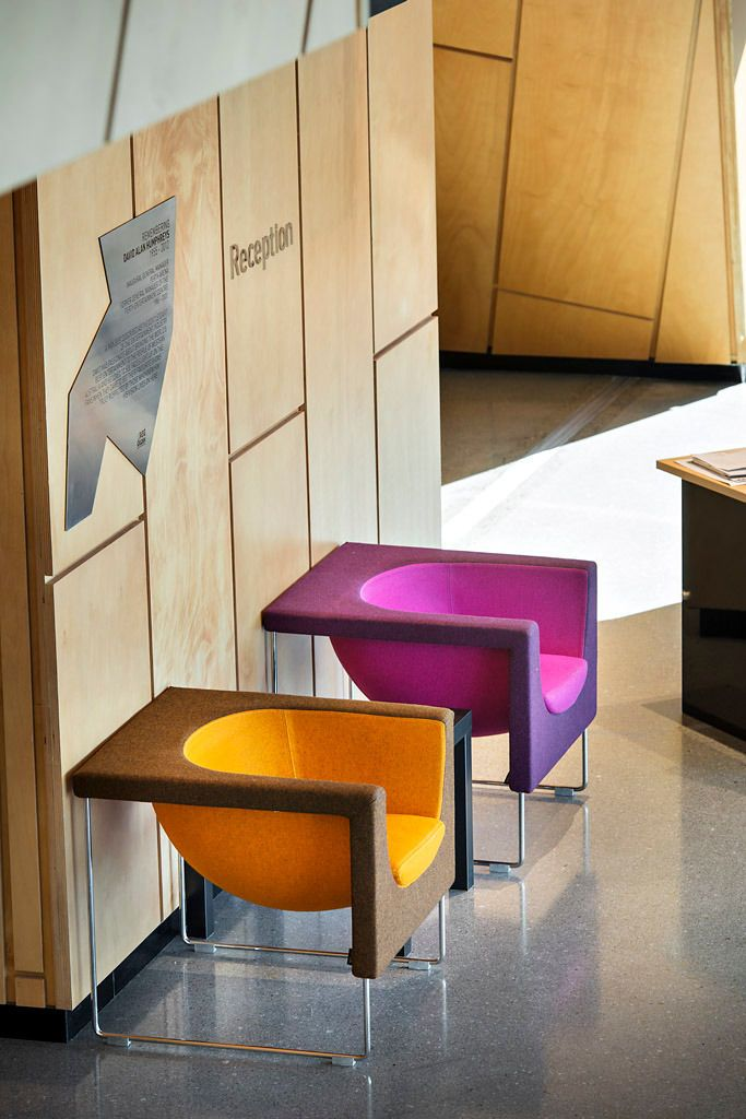 Nube Armchair by Jon Gasca for Stua. Featured in Perth Arena. Designed by CNN. Available from Stylecraft.com.au