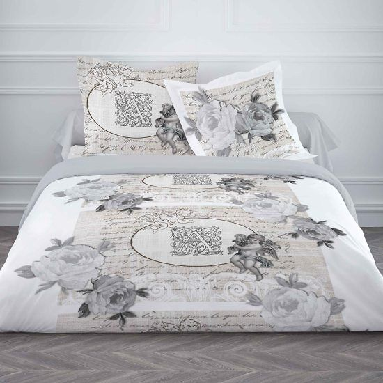 les 12 meilleures images du tableau parure de lit romantique sur pinterest couettes parure. Black Bedroom Furniture Sets. Home Design Ideas