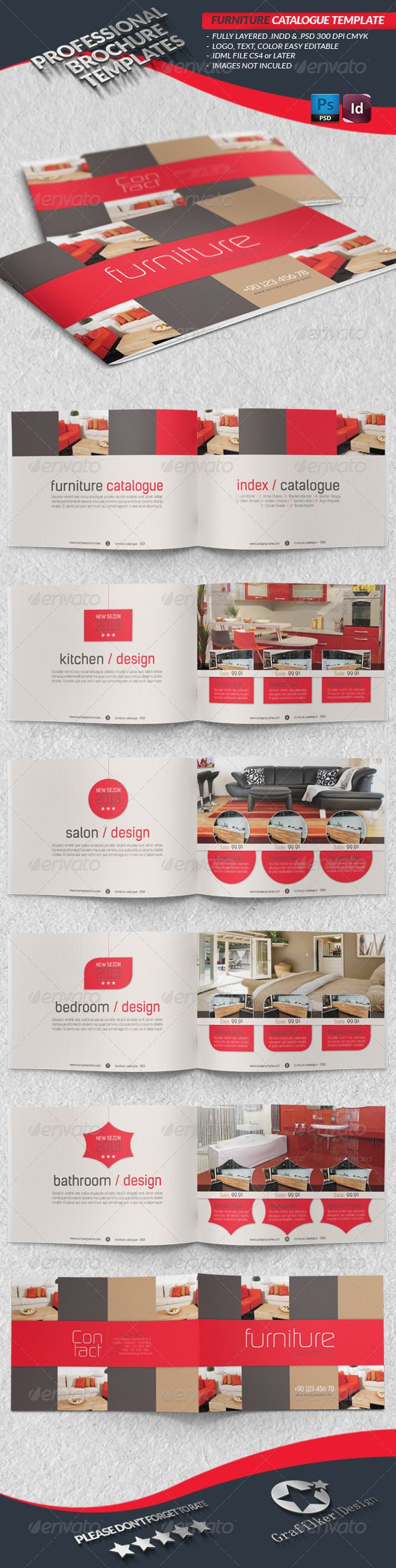 Furniture Catalogue Template - Catalogs Brochures
