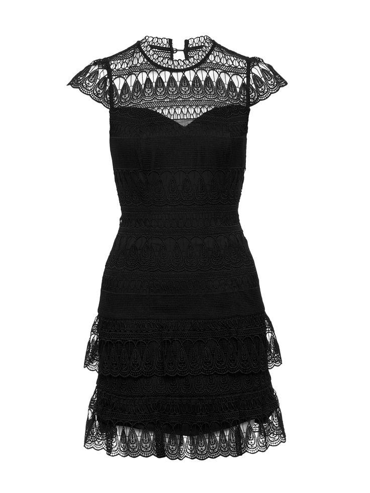 New York I Love You Dress   Black   Lace Dress