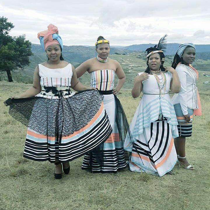 Mpondo inspired mordern regalia by Nyamie at Rafkhat Creations