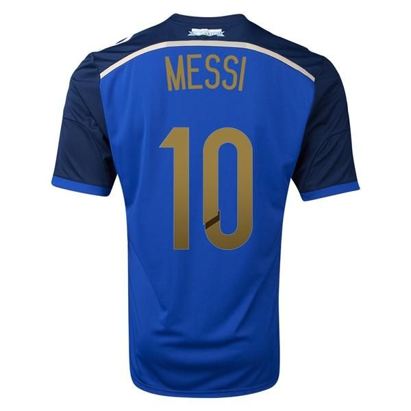 2014 Argentina MESSI World Cup Away Shirt sale $18.99 at  http://worldcupestore.