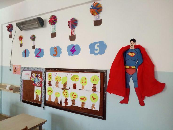 Sayılar panosu. Süpermen 😎