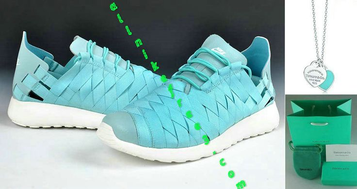 Nike Roshe Run Woven Mens Tiffany Blue 555257 300