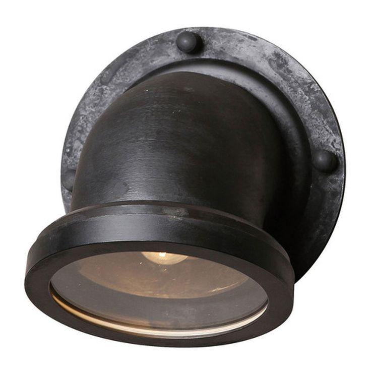 Industriele Vintage Auckland wandlamp