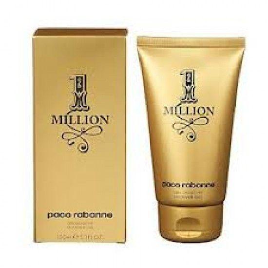 paco rabanne 1 million 150ml shower gel men