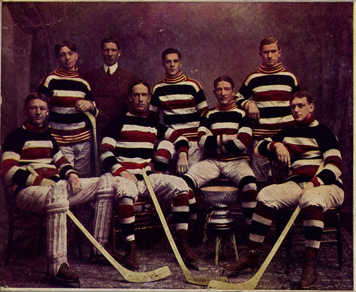 The famed Ottawa Silver Seven Hockey Club | Hockey